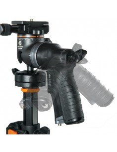 Kit Montura adaptadora Bowens HS Speed Mount II y rótula Varos II BG para flash compacto