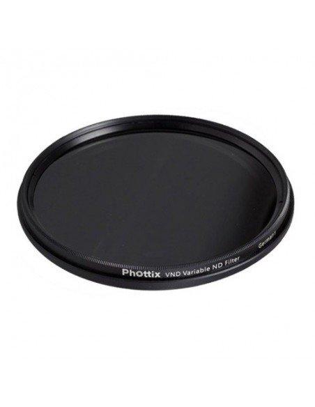 Filtro ND-Variable Phottix 62mm densidad neutra