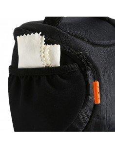 Kit Strobist pie estudio 260cm, paraguas plata-negro 84cm, soporte tipo B