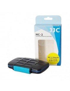 Estuche tarjetas de memoria JJC para 8 SD SecureDigital y 4 CompactFlash