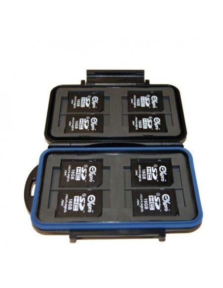 Estuche para 4 tarjetas CompactFlash y 8 SecureDigital modelo MC-2