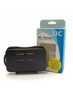 Estuche tarjetas de memoria JJC para 4 CF, 2 SD, 2 XDPictureCard, 2 MemoryStick Pro Duo y 2 Micro SD