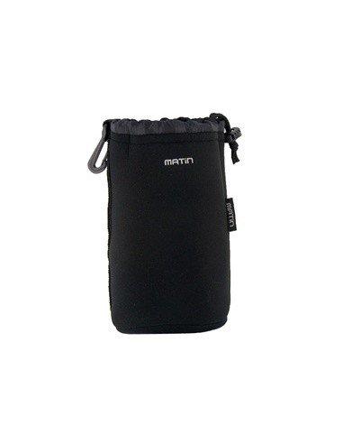 FUNDA bolsa de NEOPRENO talla L 170x95mm para Objetivo Canon Nikon Sony