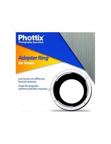 Anillo adaptador de flash Profoto a Phottix Luna y difusor Globo