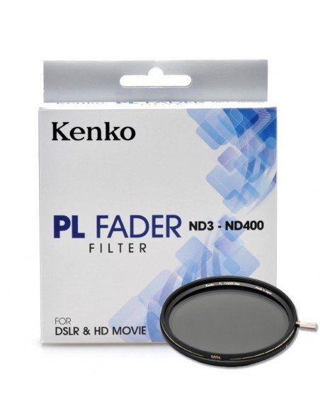 Filtro Kenko densidad variable ND3-ND400 PL Fader 82mm