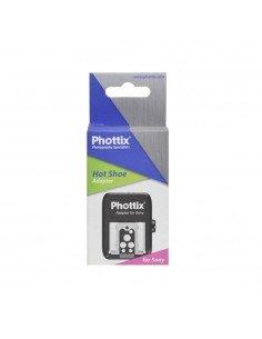 Phottix adaptador zapata Sony Minolta a Sony MI Multi-interfaz (ISO)
