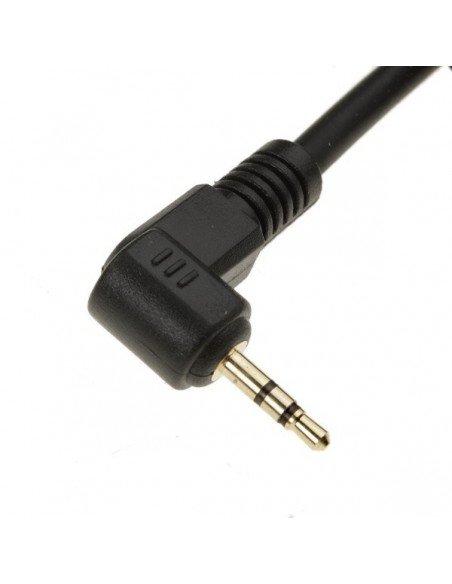 Mando Phottix cable 1 metro para Canon 60D 70D 100D 300D 350D 400D 450D 500D 550D 600D 650D 700D 1000D 1100D G12 G11 G10