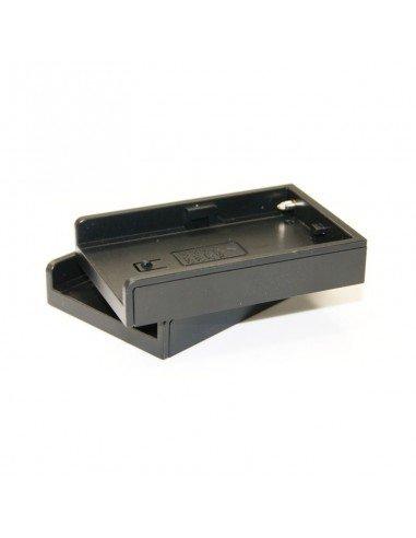 2 x Platos de recambio para baterías Nikon EN-EL3e para cargador dual