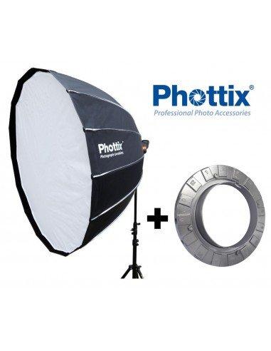 Ventana de luz Phottix Hexa-Para 150cm para Bowens