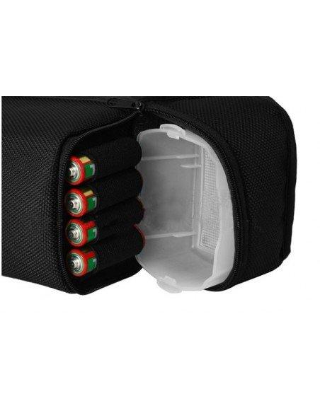 Funda profesional Viltrox para flash, difusor y baterias
