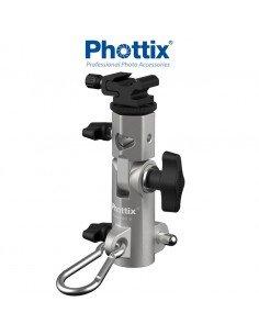 Rótula multifunción Phottix Varos Pro S para flash y paraguas