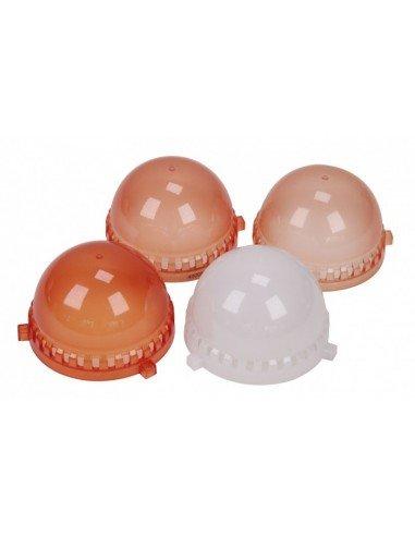 Juego 4 semiesferas Nanguang Lumiquest para CN-60F para la corrección de color