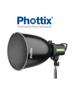 Reflector profundo Phottix 45º con grid y difusor, montura Bowens