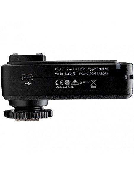 Sistema de disparo de flash Phottix Laso TTL HSS para Canon