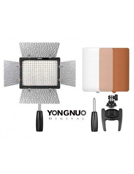 Antorcha Yongnuo YN-160 III 5500ºK a batería o red