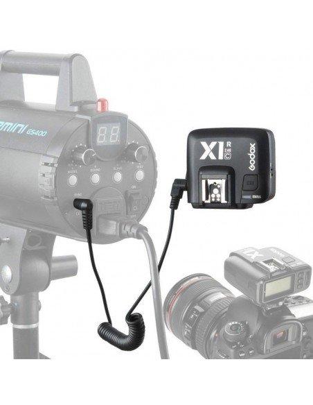 Disparador Godox X1 TTL HSS para Canon - 2 receptores