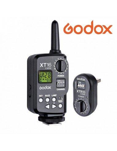 Disparador Godox XT-16 para series DS, QT, GT, DP, DE y Wistro