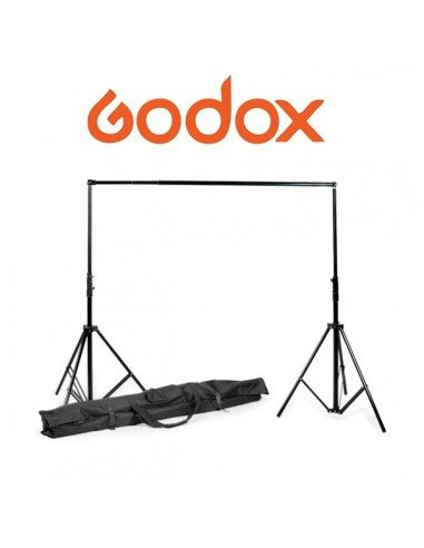 Soporte de fondos Godox BS04 2,6 x 3mts extensible con funda