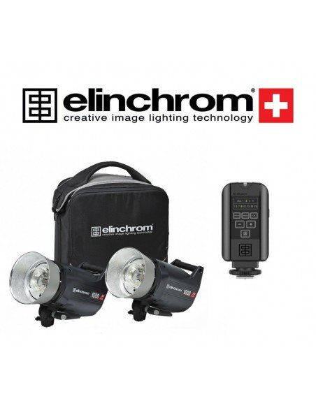 Kit 2 Elinchrom ELC Pro HD1000 con transmisor El-Skyport Plus
