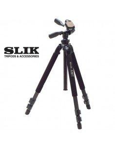 Trípode Slik PRO 500 DX aluminio magnesio y titanio con rótula ABLE 300DX