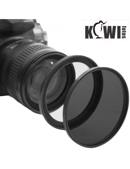 Kiwifotos anillo adaptador objetivo rosca 52mm a filtro 55mm