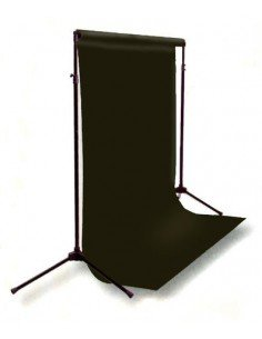 Kit Soporte fondos 2,6x3mts extensible+ Fondo cartulina Super Blanco 2,75x11m