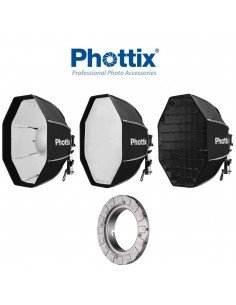 Beauty Dish/Softbox Phottix Spartan 50cm con Speedring para Elinchrom