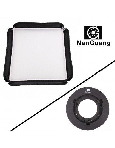 Softbox Nanguang para foco fresnel CN-30F (Incluye adaptador)