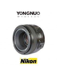Objetivo Yongnuo 50mm f/1.8 para Nikon