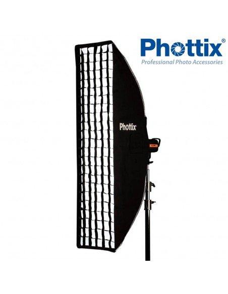 Ventana de luz Phottix Solas Strip 40x180cm con Grid (sin bastidor)