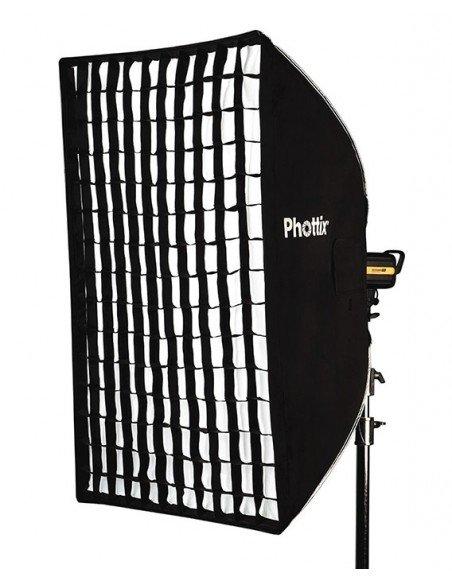 Ventana de luz Phottix Solas rectangular 91x122cm con Grid (sin bastidor)