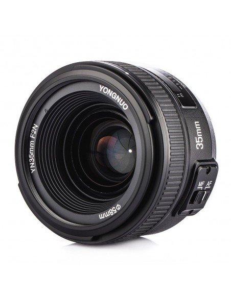 Objetivo Yongnuo 35mm f/2.0 para Nikon