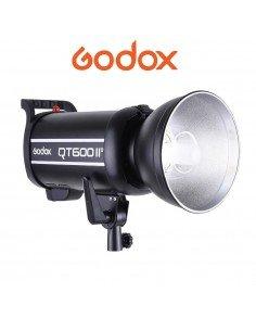 Flash de estudio Godox QT600II HSS 600w Guia 76 2.4GHz + trigger XT16