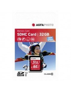 Tarjeta de memoria SDHC Agfaphoto 32GB Clase 10 High Speed UHS-1