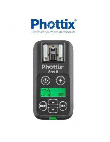 Receptor adicional Phottix Ares II para flash compacto