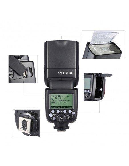 Flash Godox Ving V860II TTL HSS para Sony