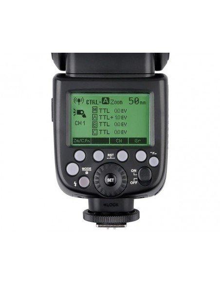 Kit 2 Flashes Godox Ving V860II TTL HSS y transmisor X1T para Canon