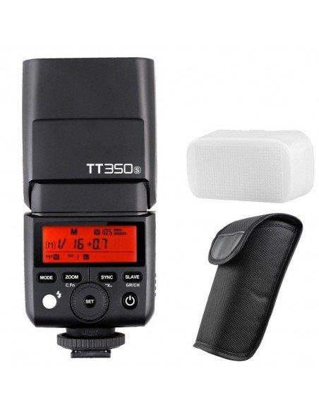Flash TTL Godox TT350 HSS,  2.4GHz para Sony