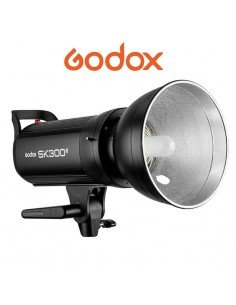 Flash Godox SK300II con receptor X system 2.4G integrado