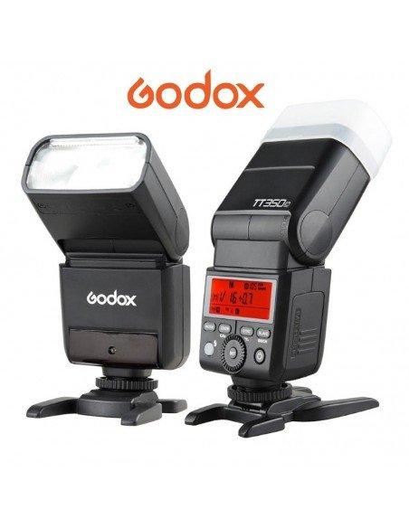 Flash TTL Godox TT350 HSS,  2.4GHz para Nikon