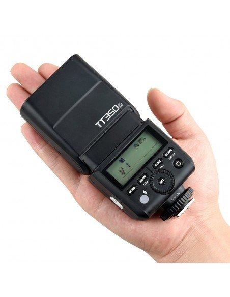 Flash TTL Godox TT350 HSS,  2.4GHz para Olympus y Panasonic