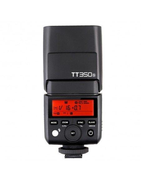 Flash TTL Godox TT350 HSS,  2.4GHz para Fuji