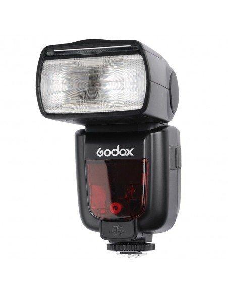 Flash Godox TT685 Nikon TTL HSS Gn60 receptor interno 2.4Ghz Difusor de regalo