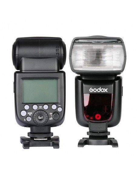 Flash Godox TT685 Nikon TTL HSS Gn60 receptor interno 2.4Ghz. Gratis difusor y geles