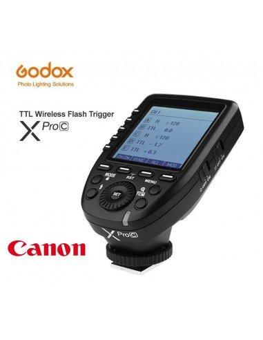 Transmisor Godox XPro TTL HSS para Canon