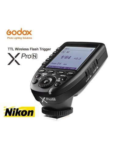 Transmisor Godox XPro TTL HSS para Nikon