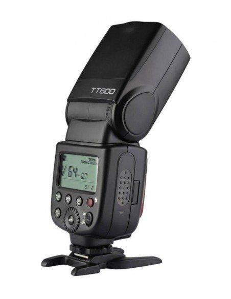 Flash manual Godox TT600 HSS Gn60 receptor interno 2.4Ghz y transmisor X1