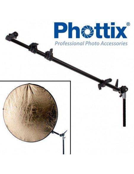 Soporte Phottix tipo K para reflectores redondos y ovalados