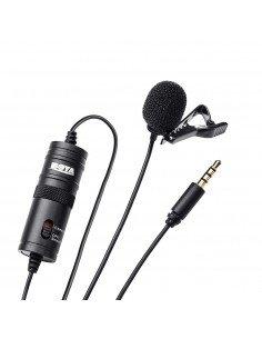 BOYA Micrófono de solapa BY-M1