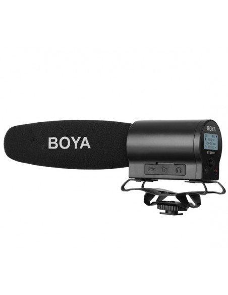BOYA Micrófono de cañón grabador BY-DMR7